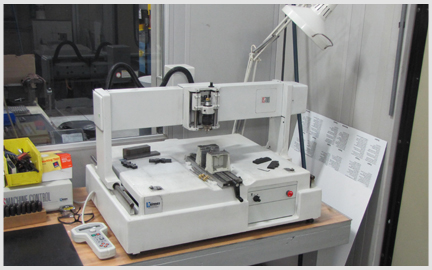 Photo of our new Hermes IS700 CNC Engraving Machine
