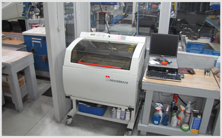 Photo of our new Hermes LS800 Laser Marking Machine