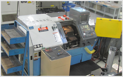 Photo of our Mazak QT-25L Turning Center