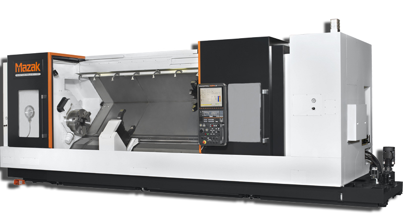 Photo of our new Mazak Quick Turn 450 II MY CNC Turning Center