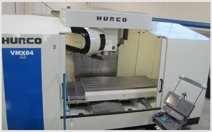 Here is a photo of our Hurco 3 Axis VMX84 Milling Machine
