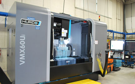Photo of Our 5 Axis Hurco