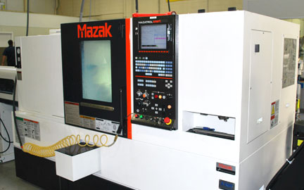 Photo of our Mazak Quick Turn SMart 200 & 250 CNC Turning Center