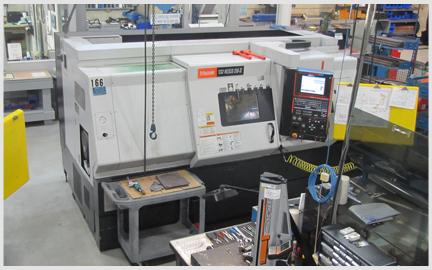 Photo of our Mazak QT Nexus 350-II CNC Turning Center