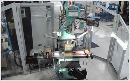 Photo of our ProtoTrak K3 EMX Milling Machine